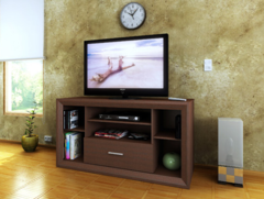 Mesa para TV Reproex R-22040 Tabaco