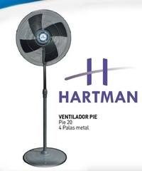 """Ventilador Hartman 1015 De pie 20"""""""