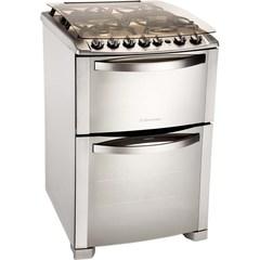 Cocina Multigas Electrolux 56DTX 4 Hornallas 56,2 cm inoxidable