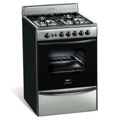 Cocina Multigas Longvie 13501X 4 Hornallas 56 cm Inox.
