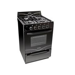 Cocina  Florencia 5517F Multigas 4 Hornallas 56 cm Negro