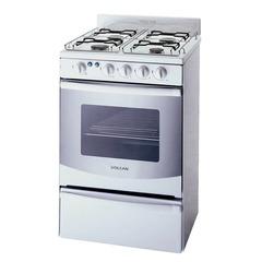 Cocina Multigas Volcán 88643V 4 Hornallas 55 cm blanca