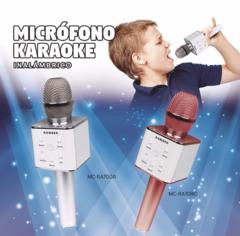 Micrófono Inalámbrico RANSER MC-RA70GR con parlante incorporado