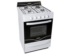 Cocina Multigas Florencia Flor 5516A 4 hornallas 56 cm blanca