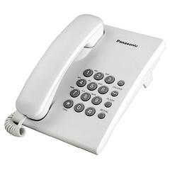Teléfono de mesa Panasonic KX-TS500AGW Blanco