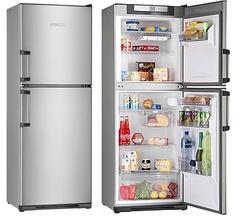 Heladera con freezer KOHINOOR KFX-3494/5 - 311Lts. Acero Inoxidable