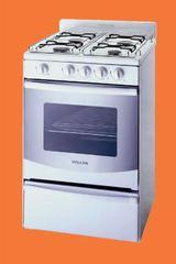 Cocina Multigas Volcán 88144V 4 Hornallas 50 cm blanca
