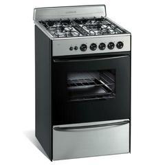 Cocina Multigas Longvie 13331X 4 Hornallas 56 cm Inox