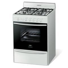 Cocina Multigas Longive 13501 4 Hornallas 56 cm Blanca