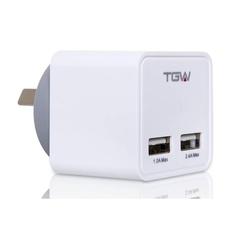 Cargador USB TGW Ichar32 2usb