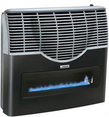 Calefactor LONGVIE ECA8KVT Sin salida 7500Kcal/h, con visor y termostato, Grafito - platinum