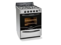 Cocina Multigas Florencia Flor 5558A 4 Hornallas 56 cm Acero inoxidable