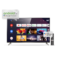 Led 50 SM TCL 4k Smart Andriod Control por Voz L50P8M