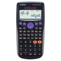 Calculadora Casio FX-82LA Plus Cientifica 252F Negro