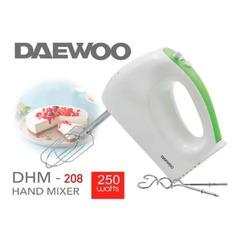 BATIDORA MANUAL DAEWOO DHM-208 250W