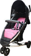 Cochecito para bebé Bipo BBS 119A negro y rosa