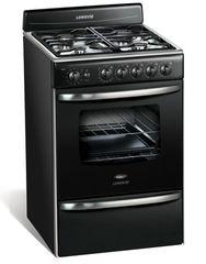 Cocina Multigas Longvie 18501G 4 Hornallas 56 cm Grafito